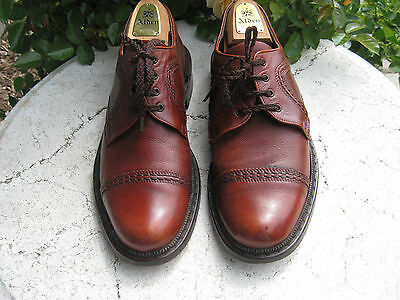 LLOYD SHOES - Premier Handmade - Vintage - Brown Leather mens 11.5