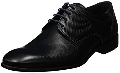 Amazon.com: Lloyd Shoes GmbH Schwarz/blu Denver Calf: Shoes