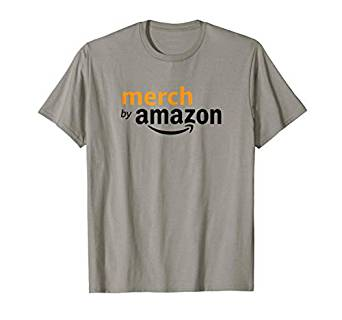 Amazon.com: Merch by Amazon Logo T-shirt: Clothing