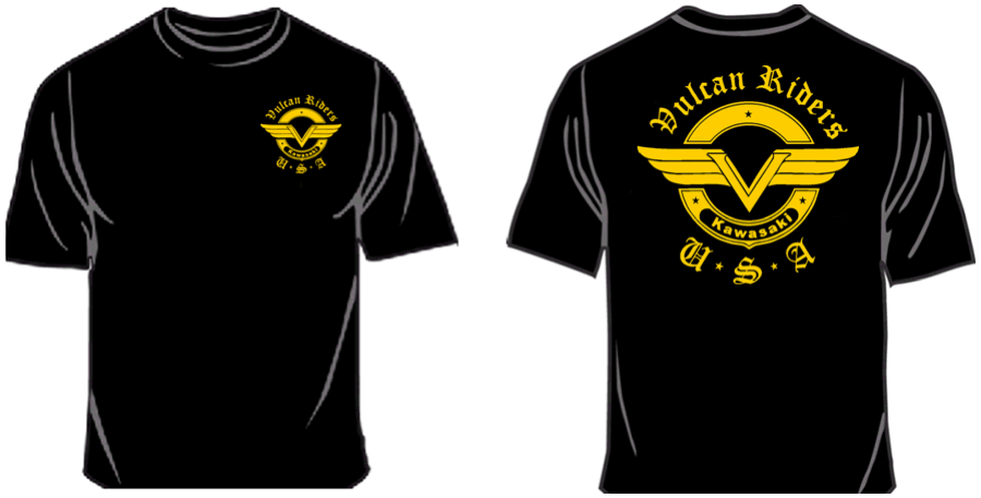 Standard VRA Logo Shirts | Vulcan Riders Association USA | Good
