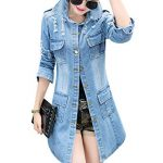 Long Denim Jackets