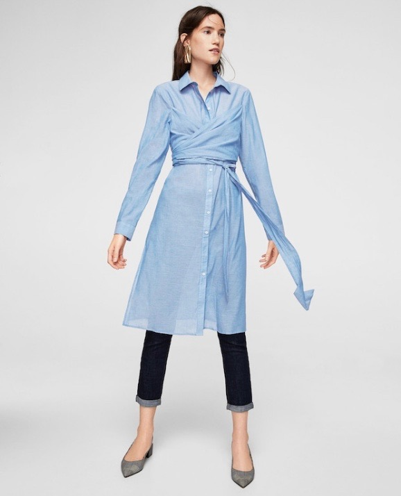 Extra Long Shirts Are Trending for Spring 2018 - theFashionSpot