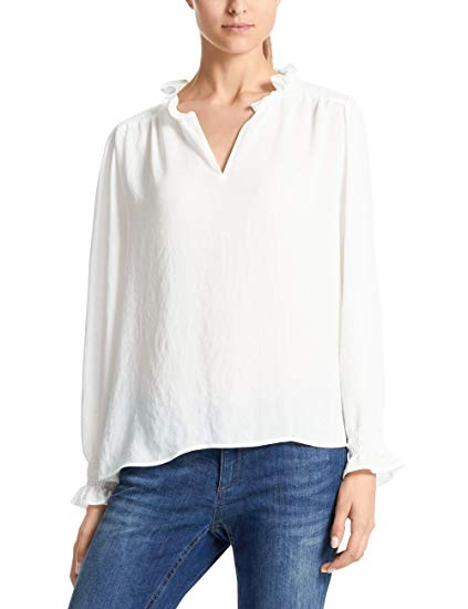 Marc Cain Collections Women's Blusen Blouse: Amazon.co.uk: Clothing