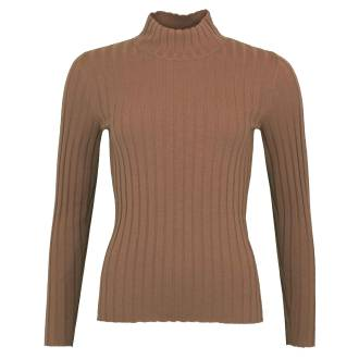 Marc Cain pullovers KC4150 M53 brown at Penninkhoffashion.com