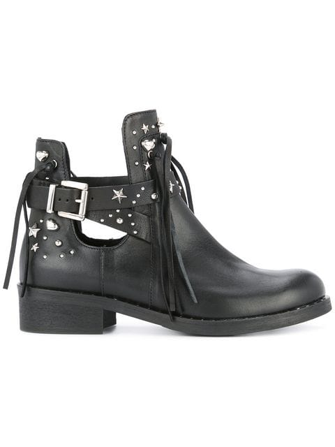 Marc Cain Studded Ankle Boots - Farfetch