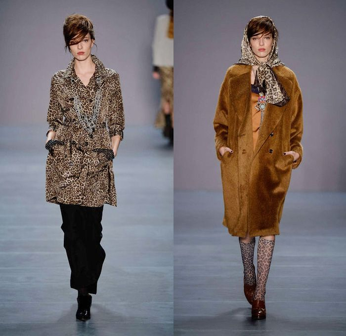 Marc Cain 2014-2015 Fall Winter Womens Runway Collection - Mercedes