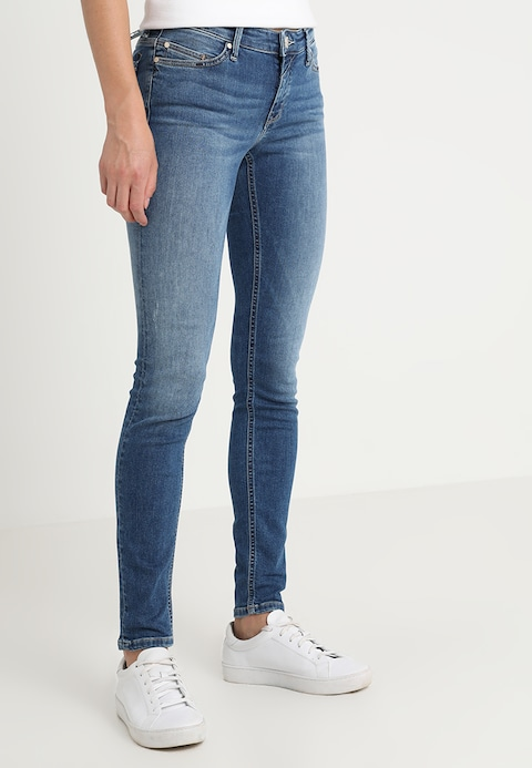 Marc O'Polo DENIM SIV - Jeans Skinny Fit - denim wash mid - Zalando