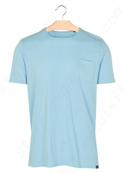Men Marc O'polo Regular-Fit Round-Neck Cotton T-Shirts Blue - Marc O