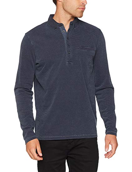 Marc O'Polo Men's M27223655014 Polo Shirt, Blau (Blue Dust 886