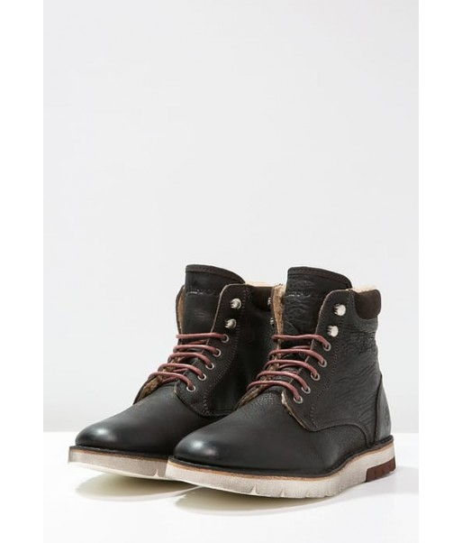 2016 Winter women shoes Marc O'Polo Lace-up boots - dark brown Low