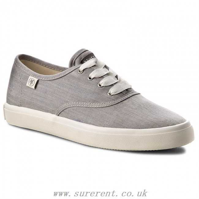 Marc O'polo Grey Women's Blue Sneakers Melange Shoes Necessary