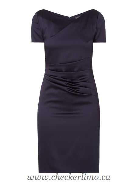 Marie Noir - Women Cocktail dress with long sleeves 51LR5EH - Blue