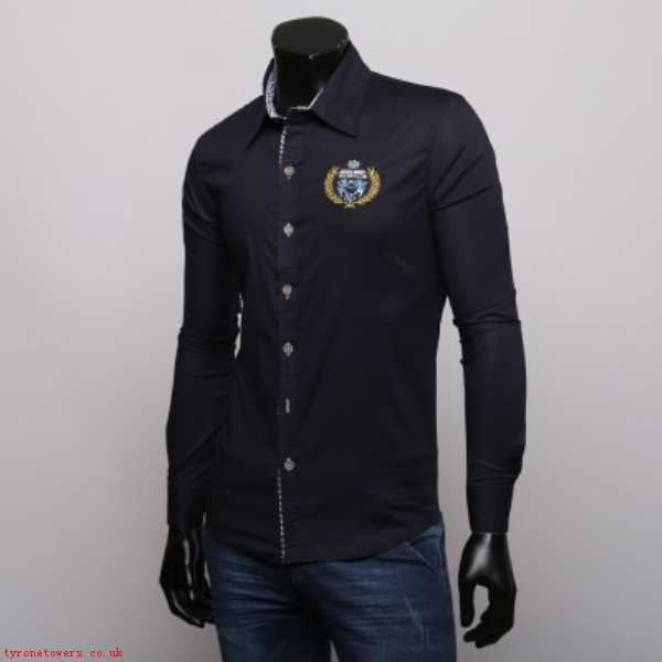 Good Sal Shirts BQ762911 - Shirt with Maritime Embroidery For Mens