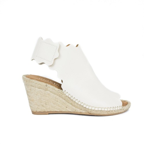 Wedge Quondas New Nature Panna - Maypol Shoes