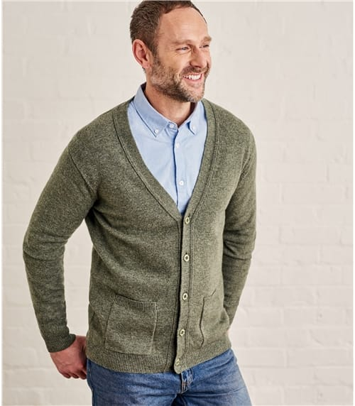 Cardigans For Men | Mens Collection | WoolOvers US