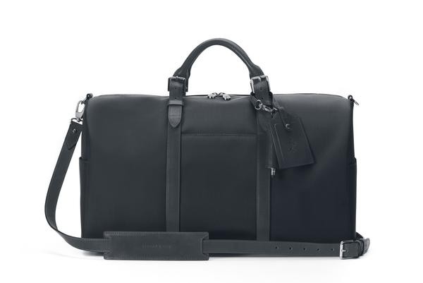 Stuart & Lau | The Monaco - Men's Weekender Bag - Black