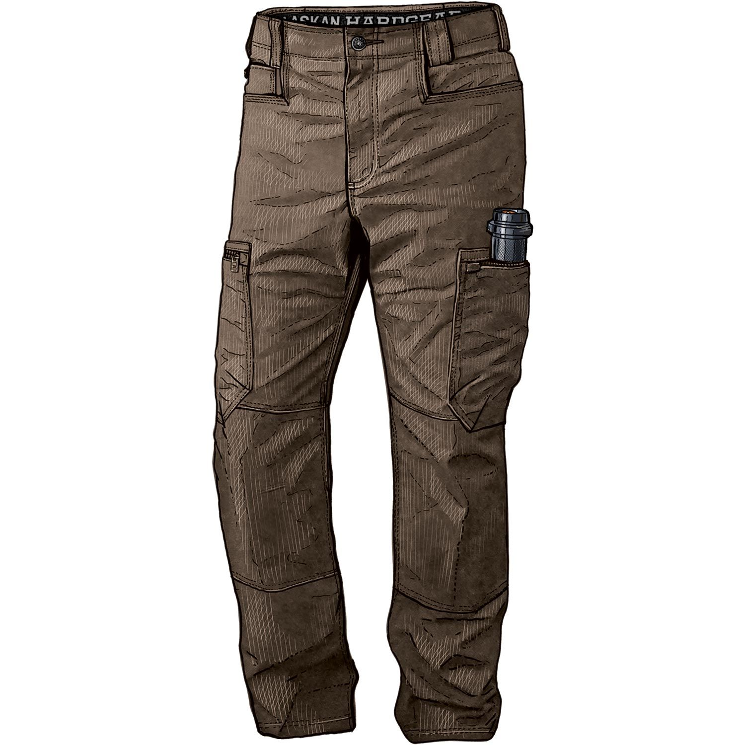 Men's Alaskan Hardgear Roustabout Cargo Pants | Duluth Trading Company