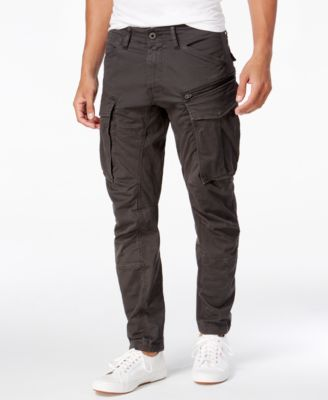 G-Star Raw Men's Rovic 3D Slim-Fit Tapered Cargo Pants & Reviews