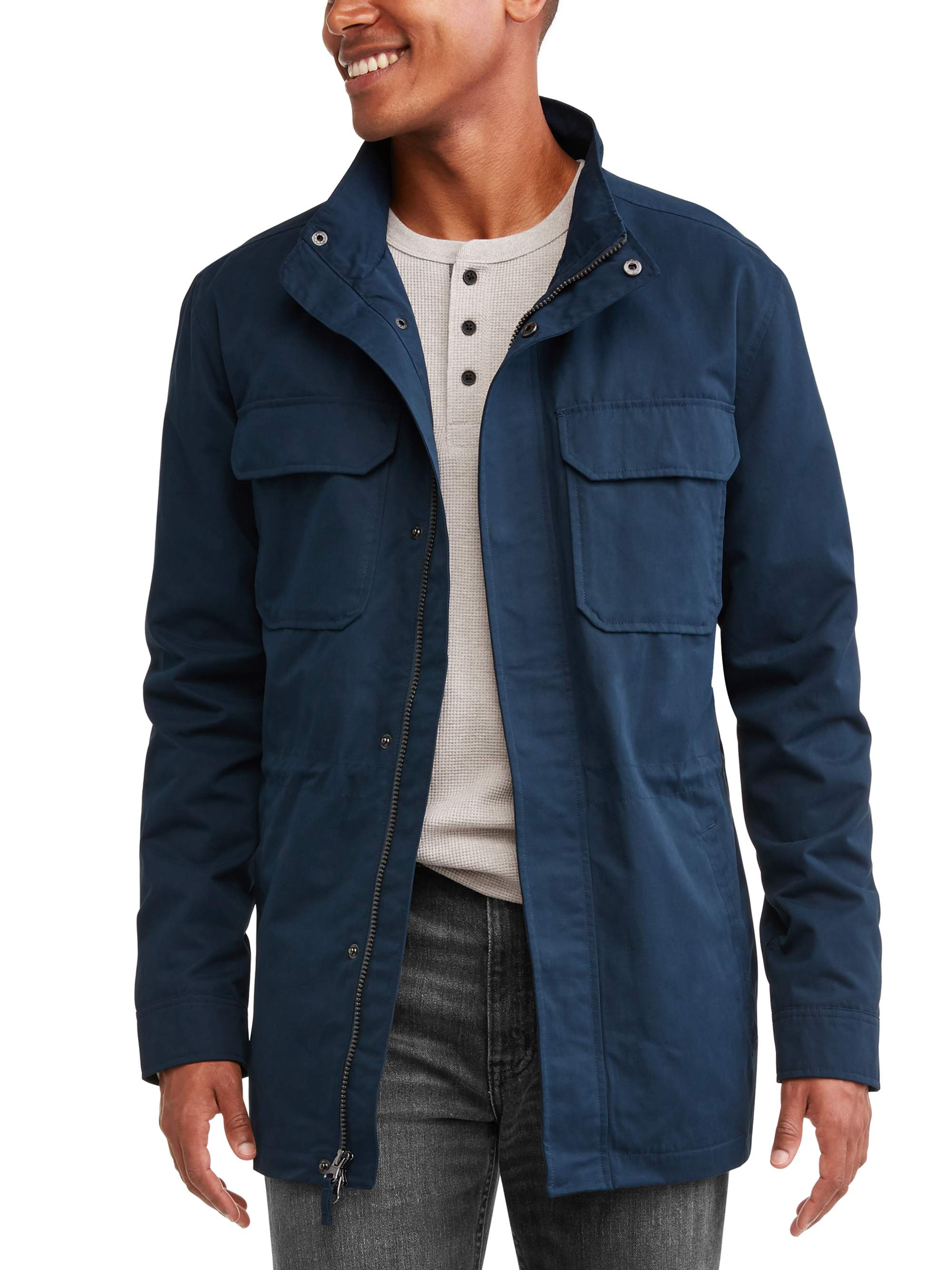 Field jacket for men: masculine and sporty through the outdoors