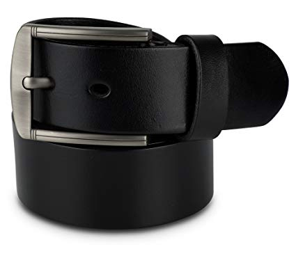 Mens Belt - Men's Belts - Adjustable Leather Belt for Men - Size 34