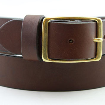 Shop Handmade Leather Belts For Men on Wanelo