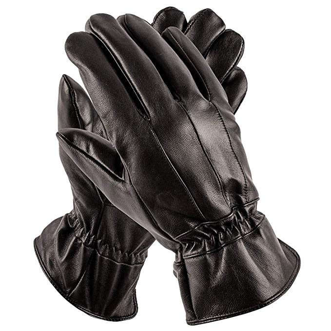 Pierre Cardin Mens Leather Gloves - Luxury Driving Gloves - Perfect