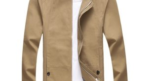 Spring thin Men's Leisure stand Jacket male, Good quality cotton
