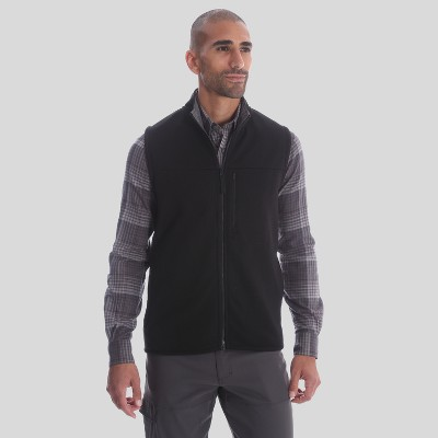 Wrangler Men's Outdoor Fleece Vests : Target