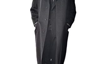 Men's Full Length Overcoat in Pure Cashmere at Amazon Men's Clothing