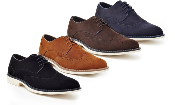 Up To 71% Off on Franco Vanucci Men's Oxfords | Groupon Goods