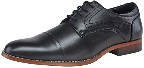 Amazon.com | VOSTEY Men's Oxford Classic Wingtip Brogue Derby Dress