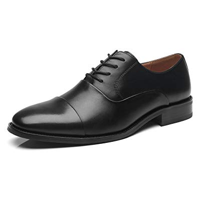 Amazon.com | La Milano Men's Oxfords Classic Modern Round Captoe