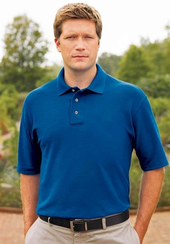 Wholesale Men's Pique Polo Shirts Closeouts Liquidations