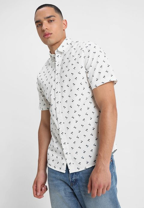 Only & Sons ONSZAZASS Men's shirt white Men's Print Shirts Kent