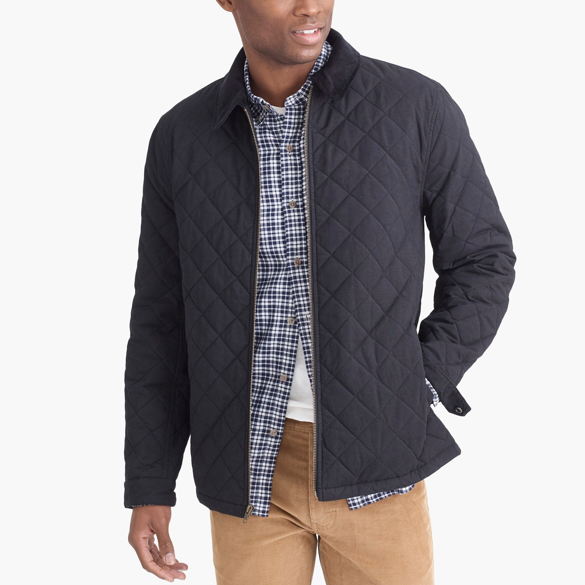 Quilted jacket : FactoryMen Jackets | Factory