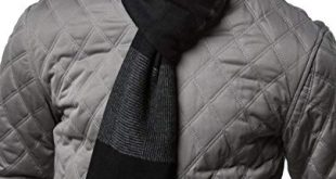 Gallery Seven Mens Scarf - 100% Cotton Winter Scarves fo Men