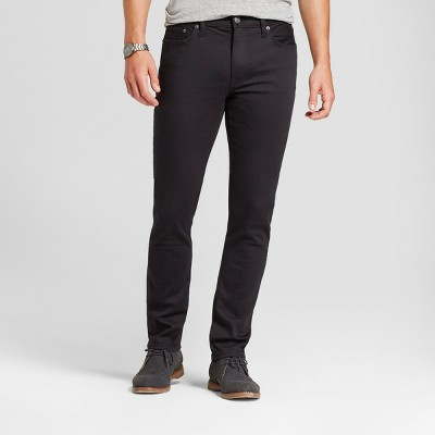 Men's Skinny Fit Jeans - Goodfellow & Co™ Black : Target