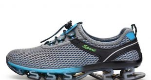 Super Cool breathable running shoes men sneakers bounce summer