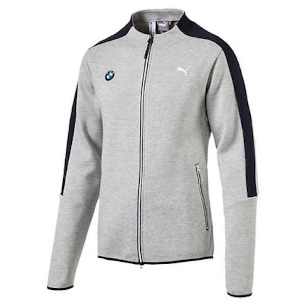 Puma Bmw Motorsport Men's Classic Zip Up Sports Track Jacket Light