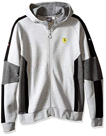 PUMA Men's Scuderia Ferrari Hooded Sweat Jacket at Amazon Men's
