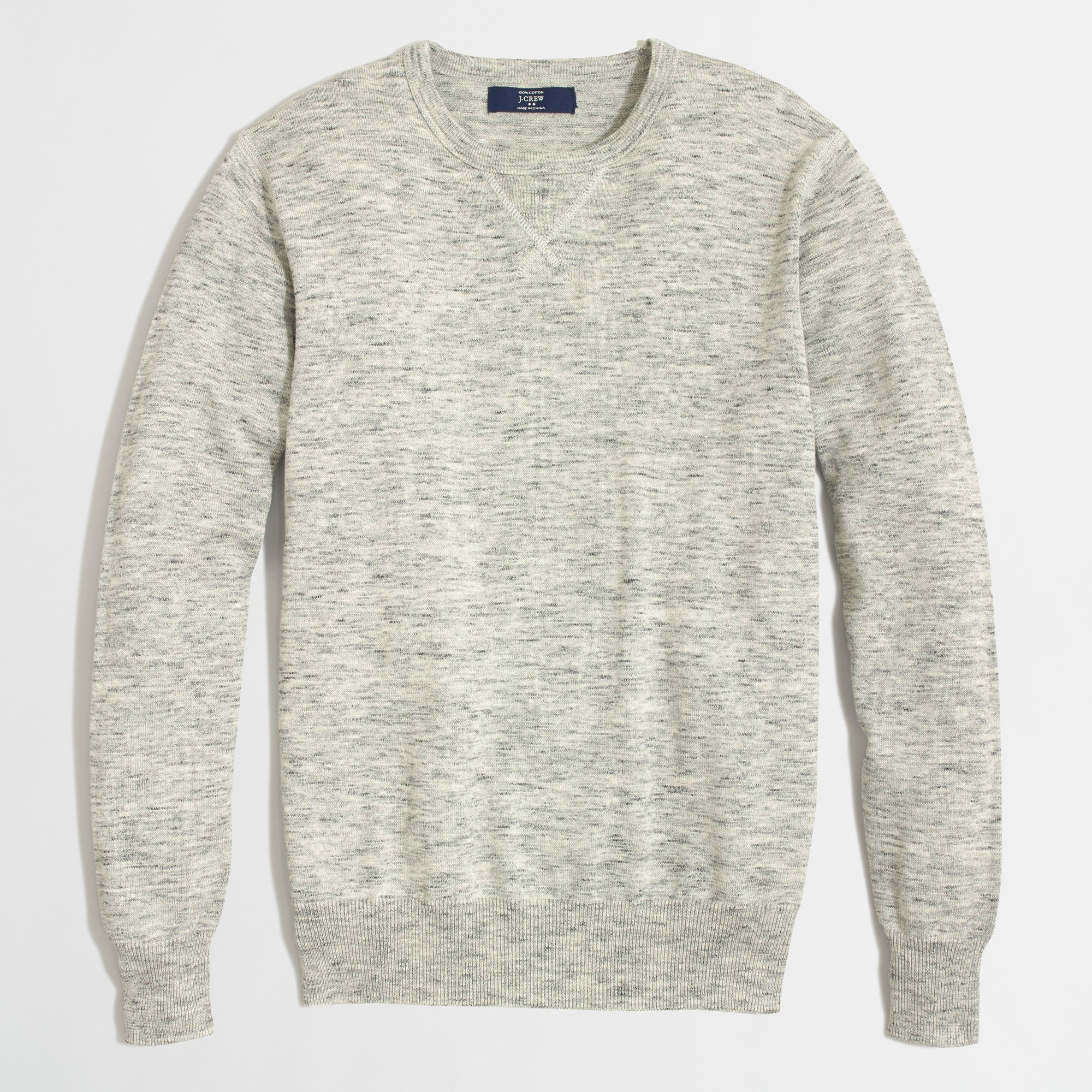 Heathered sweatshirt sweater - Men's Sweaters | J.Crew Factory