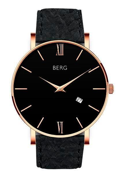 Ulriken Black Rose Gold 40 MM
