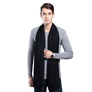 Mens Winter Cashmere Scarf - Ohayomi Fashion Formal Soft Scarves for