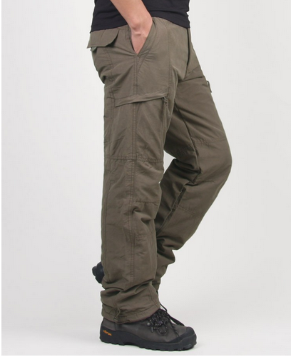 Men's Cargo Winter Pants