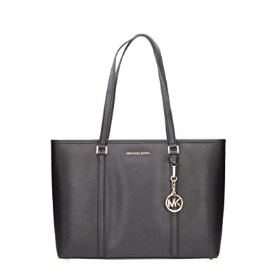 Amazon.com: Michael Kors Large Sady Carryall Shoulder Bag (Black): Shoes
