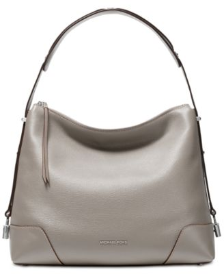 Michael Kors Crosby Pebble Leather Shoulder Bag & Reviews - Handbags
