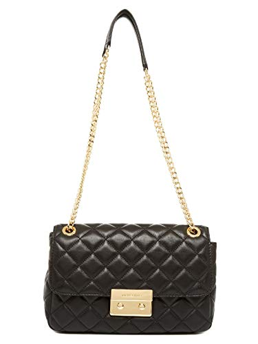 MICHAEL KORS Sloan Large chain shoulder bag denim leather