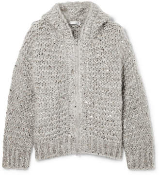 Grey Mohair Cardigan - ShopStyle