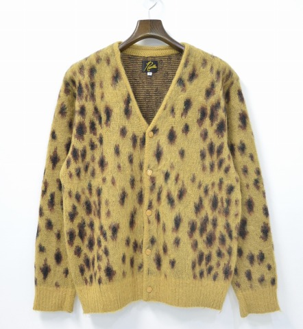used select shop Greed: (Needles) needles Mohair Cardigan - Leopard