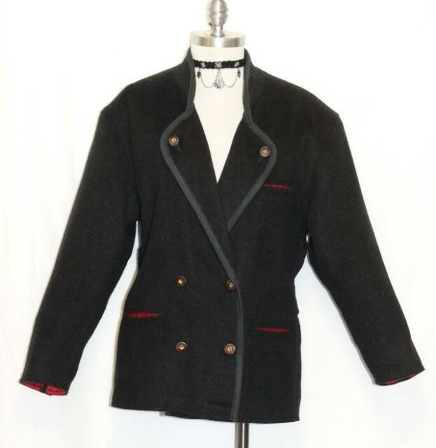 Wool and Mohair Jacket Sweater Women Made in Italy Winter Coat / B43